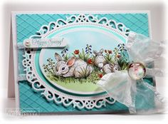 Spring Is Sprung by One Happy Stamper - Cards and Paper Crafts at Splitcoaststampers