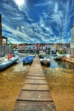 Port Grimaud ~ Provence, France #portgrimaud www.facebook.com/grimaudtourisme