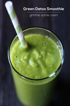 One of my favorite healthy smoothies! gimmesomeoven.com #smoothie #breakfast #healthy