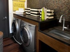 Modern Laundry Room Designs: Pictures, Options, Tips & Ideas | HGTV