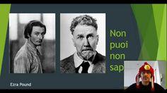 Ezra Pound  Combatto la mia ignoranza un video alla volta :)  #leggere #scrivere #libri #cultura #letteratura