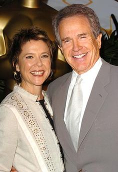 Annette Bening & Warren Beatty, husband and wife Hollywood Couples, Hollywood Icons, Hollywood Celebrities, Celebrity Couples, Hollywood Stars, Classic Hollywood, Celebrity Weddings, Warren Beatty, Annette Bening