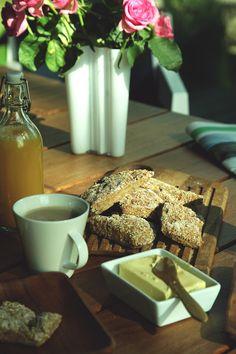 Gluteenittomat kaurapalat 2 Cereal, Dairy, Cheese, Breakfast, Food, Morning Coffee, Essen, Meals, Yemek