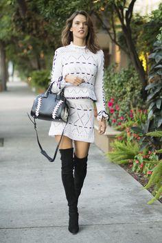 Alessandra Ambrosio Vogue España waysify