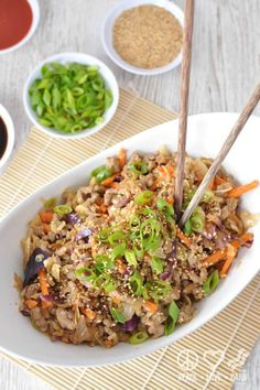 It's like an Asian version of Chipotle-but better.Get the recipe at Peace Love and Low Carb.