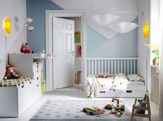 ¡Añade a la habitación para niños, el espíritu nórdico, donde la luminosidad, la versatilidad y el color inundarán de magia el espacio!