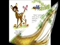 Bambi - Disney Story- best lil' audio story 8+ min.