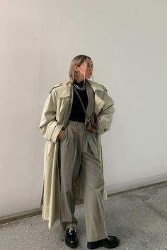 Uni Outfits, Neue Outfits, Casual Winter Outfits, Fall Outfits, Fashion Outfits, Looks Street Style, Street Style Trends, Minimal Outfit, Minimal Fashion