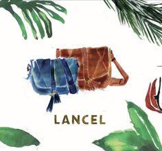 Happy Holiday !! Vive les vacances.... Jul Perrin for Lancel. Sac Ella. Inspiration Stephane Subrenat @lancel @illustrator @illustration @illustratrice