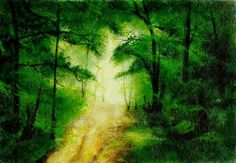 "Branka Božić, "" Hush...hush... sweet green..."" on ArtStack #branka-bozic #art"