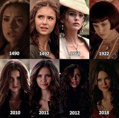 The Vampire Diaries: Katherine Pierce throughout the years
