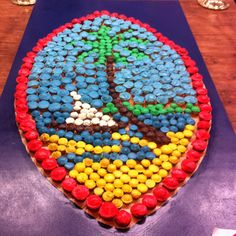 Cupcakes of my Guam Seal!  Where America's Day Begins