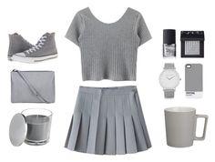 """Minimalist - Set Thirty-Seven"" by krainem ❤ liked on Polyvore featuring Larsson & Jennings, Pantone, CB2, NARS Cosmetics, Converse, minimal, Minimalist, simplicity, minimalism and minimalistic"