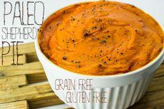 Paleo Shepherd's Pie - Grain Free - Gluten Free - Make Ahead - Corn Free - Sugar Free - Soy Free - Family - Dinner