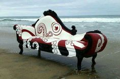 I love this....steampunk...OOAK fainting couch Two Days Work!!!!