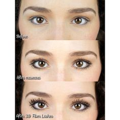 Our Silk Fiber Mascara will increase the length, thickness and volume of your lashes at up to of their natural state. You'll get long, luscious lashes without having to apply false eyelashes. Applying False Eyelashes, How To Apply Mascara, False Lashes, Applying Mascara, Clear Mascara, Permanent Eyelashes, Longer Eyelashes, Long Lashes, 3d Fiber Lashes