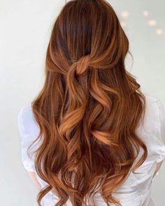 Orange Brown Hair, Hair Color For Brown Skin, Copper Brown Hair, Balayage Hair Copper, Ginger Hair Color, Hair Color Caramel, Hair Color Auburn, Hair Color Balayage, Reddish Brown Hair