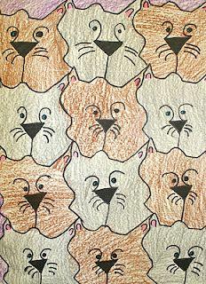 tessellation inspired by MC Escher
