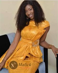 African Attire, African Dress, Unique Ankara Styles, Africa Fashion, African Design, Classy Chic, African Beauty, Peplum Dress, Fashion Dresses