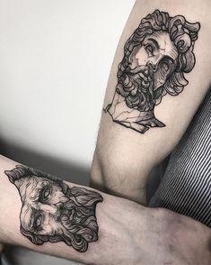 Search inspiration for a Blackwork tattoo. Tattoos 3d, Black Ink Tattoos, Body Art Tattoos, Sleeve Tattoos, Black Work Tattoo, Tattos, Pretty Tattoos, Cute Tattoos, Beautiful Tattoos