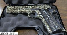 Iver Johnson 1911 Copperhead Hydro Dipped