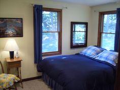 master bedroom of Rose Cottage