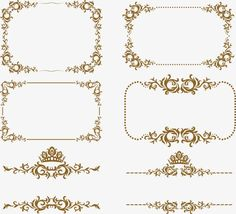 Frame,Euporean,Frontera europea Gratis PNG y Vector Page Borders Design, Border Design, Wedding Invitation Layout, Flower Border Png, Boarders And Frames, Journal Challenge, Backdrop Design, Chicken Art, Free Photoshop
