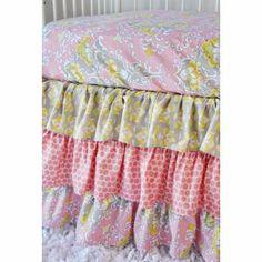 Caden Lane Amy's Garden Crib Bedding at Luxury Baby Nursery