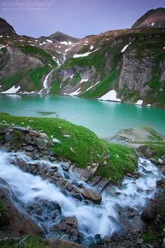 The gorgeous Alps.