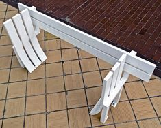 These crazy benches are artist Jeppe Hein's creations and he wants you to sit on them.