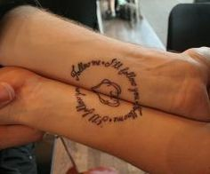attoo for couples is a lovable and creative way to say how much you love and care for each other. Permanent ink resembles the promise of permanent love