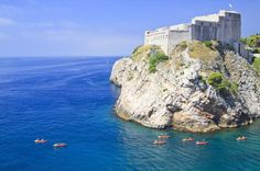 Book your adventure - Set out into the clear blue sea on a small-group kayak trip for an unforgettable view of Dubrovnik. Paddle along the impressive city walls  until you reach Betina, a cave beach, where you can snorkel and explore  the marine world on this half-day tour. No experience is necessary, as  you will receive training on how to kayak and snorkel safely! This  small-group tour ensures a memorable and