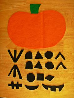 Jack o' lantern busy bag i should do this with a christmas tree also