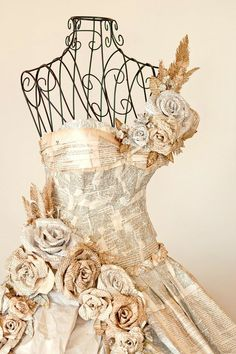 Newspaper Dress- It's gorgeous until you're at a party and it falls apart haha
