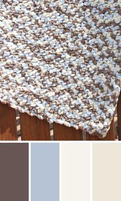Free Crochet Baby Blanket Pattern using Bernat Baby Blanket Yarn! Free Baby Blanket Patterns, Crochet Baby Blanket Free Pattern, Crochet Wrap Pattern, Bernat Baby Blanket, Blanket Yarn, All Free Crochet, Knitted Baby Blankets, Crochet Ideas, Baby Afghans