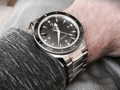 omega seamaster 300 master co-axial leather strap - Google Search