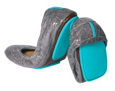 Slate Grey Crocodile Tieks...I don't have a pair but seriously considering!