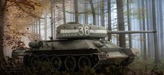 The Sherman was the workhorse of the American Army in World War II. Early in the war it was more than a match for the German Panzer III and IV tanks . Easy Eights World Warfare, Tank Wallpaper, Battle Of Stalingrad, Art Transportation, Tank Armor, World Of Tanks, Panzer, Fantastic Art, Military Art