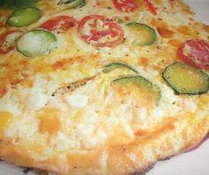 Ομελέτα με κολοκυθάκια και τυρί!
