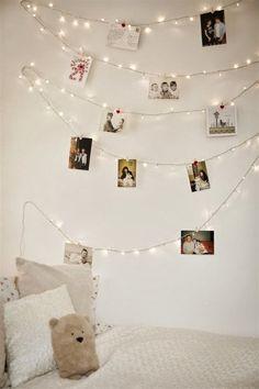 Lee Caroline - A World of Inspiration: Fairy String LED Lights - Fairy Light Inspiration