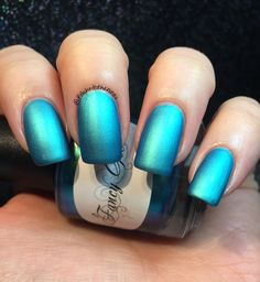 Fancy Gloss - Arctic Breeze with Matte Top Coat - Land and Sea Collection