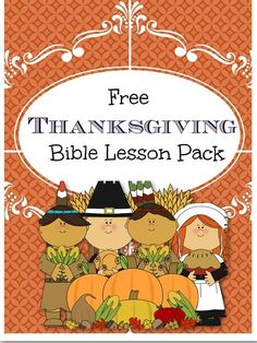 Free Thanksgiving Bible Lesson pack great for primary ages and it's fun! Plus, it has a Bible lesson for Thanksgiving. Your children will learn how to be[Read more]