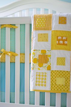 whimsical quilt- could do something like this with all the blue fabric I have.