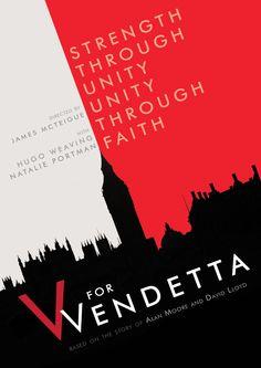 V for Vendetta - Alternative Poster by thesparksoffire