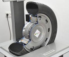 Ford esconde sus motores eléctricos en las ruedas con la tecnología eWheelDrive Un aspecto muy buscado para disimular los inconvenientes de los motores eléctricos a la hora de pensar en vehículos comprometidos con la racionalización energética y el crecimiento del parque automotor.