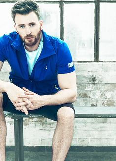 Chris Evans | Incredibly handsome <3<3<3 -B.R.