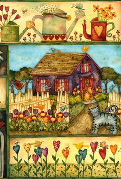 Коллекция картинок: Художница Debi Hron. Картинки для творчества