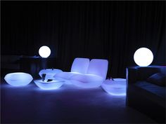 lighted furniture