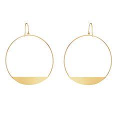 Lana ewelry large eclipse earrings