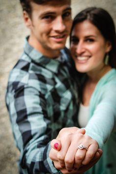 Engagement photos Ring Tacoma, WA